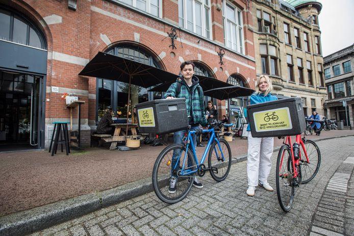 Bij Gastropub Van Kinsbergen bestel je vanaf deze week alleen nog via hun eigen website: Frits en Fleur van Vince.Delivery komen de maaltijd op de fiets langsbrengen.