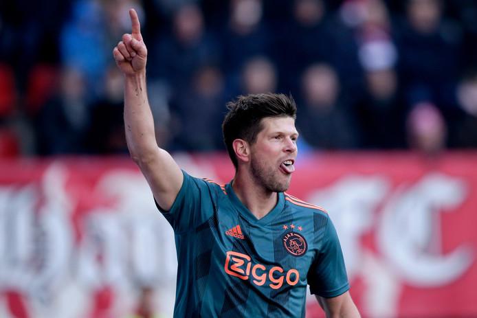 Klaas-Jan Huntelaar, goaltjesdief van Ajax.