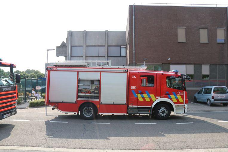 De brandweer kwam ter plaatse, maar uiteindelijk bleek alles in orde te zijn.