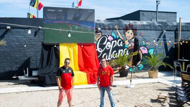 Ook strandbar Copacabana Beach pakt uit met EK-dorp