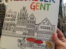 De Gantoise of plantentuin inkleuren naar eigen smaak? Het kan met het eerste kleurboek van Gent