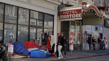 """Daklozenprobleem in San Francisco barst uit z'n voegen: """"Tenten blokkeren straten en deuren"""""""