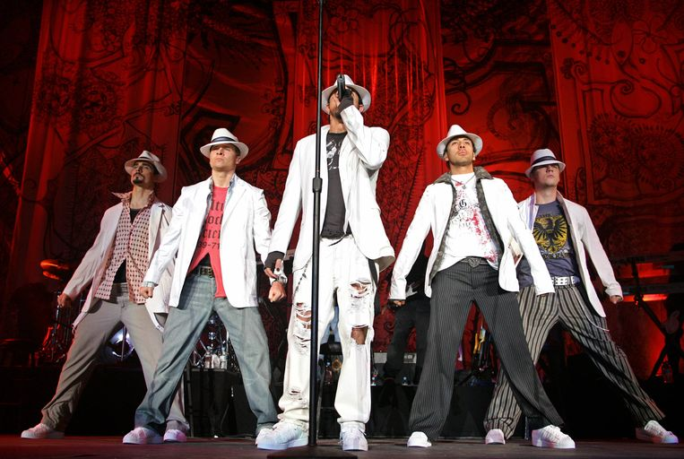 Backstreet Boys. Beeld AFP
