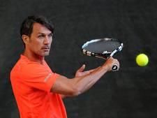 Nederlandse tennisser tegen Maldini in Milaan