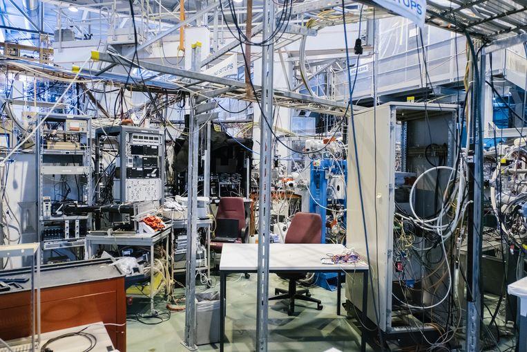 Onderzoekscentrum ISOLDE.  Beeld Wouter Van Vooren