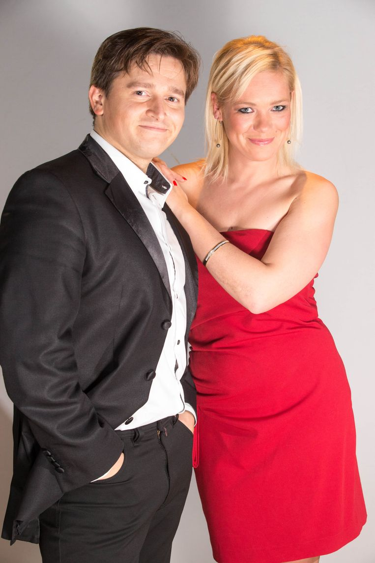 Andrei Lugovski en Annelies Winten (The Sunsets). Beeld BELGAIMAGE