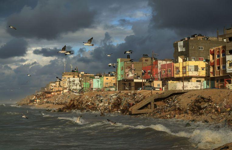 Beeld uit Gaza. Beeld AFP