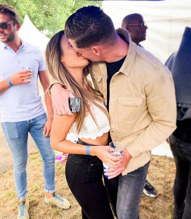 Kelly & Matthy uit 'Love Island'.