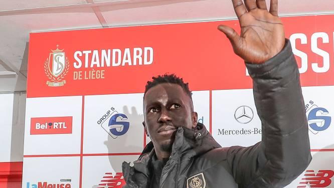 """Mbaye Leye bij voorstelling als nieuwe coach Standard: """"Ik wil opnieuw passie zien"""""""