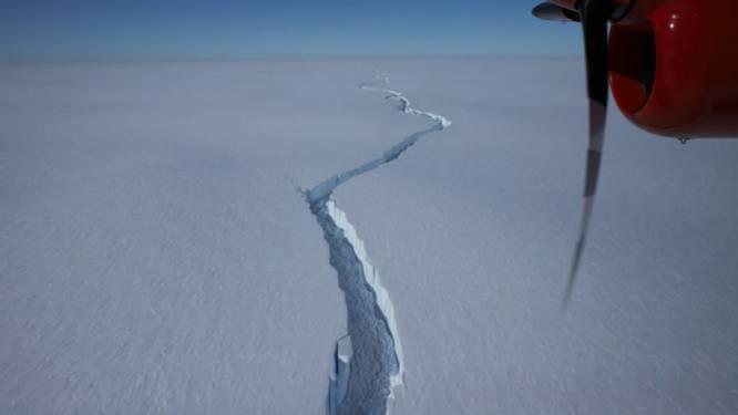 IJsberg van 1.270 km² breekt af van de Zuidpool