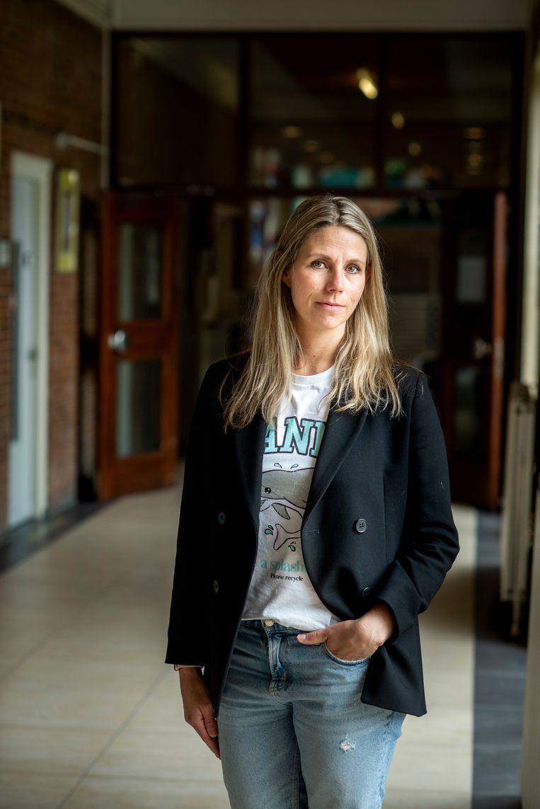 Céline Rensen: 'Ik werd boos. Hoe kon Louise er zo bij zitten?' Beeld Linelle Deunk