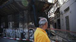 Athene opgeschrikt door aardbeving van 5,3: duizenden burgers lopen straat op