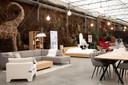 De Nederlandse woonwinkel Morres neemt door de lockdown zijn intrek bij Verbeke Foundation in Kemzeke, net over de grens.