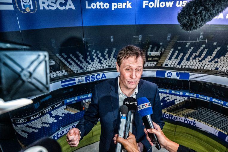 Karel Van Eetvelt wordt vanaf 1 april de nieuwe CEO van recordkampioen RSCA Anderlecht. Beeld Tim Dirven