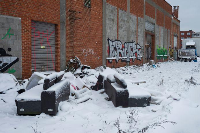 De oude slachthuis site.
