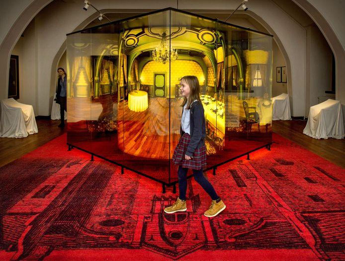 Eva Swinkels vindt ook de 'grotemensen'verdieping interessant.
