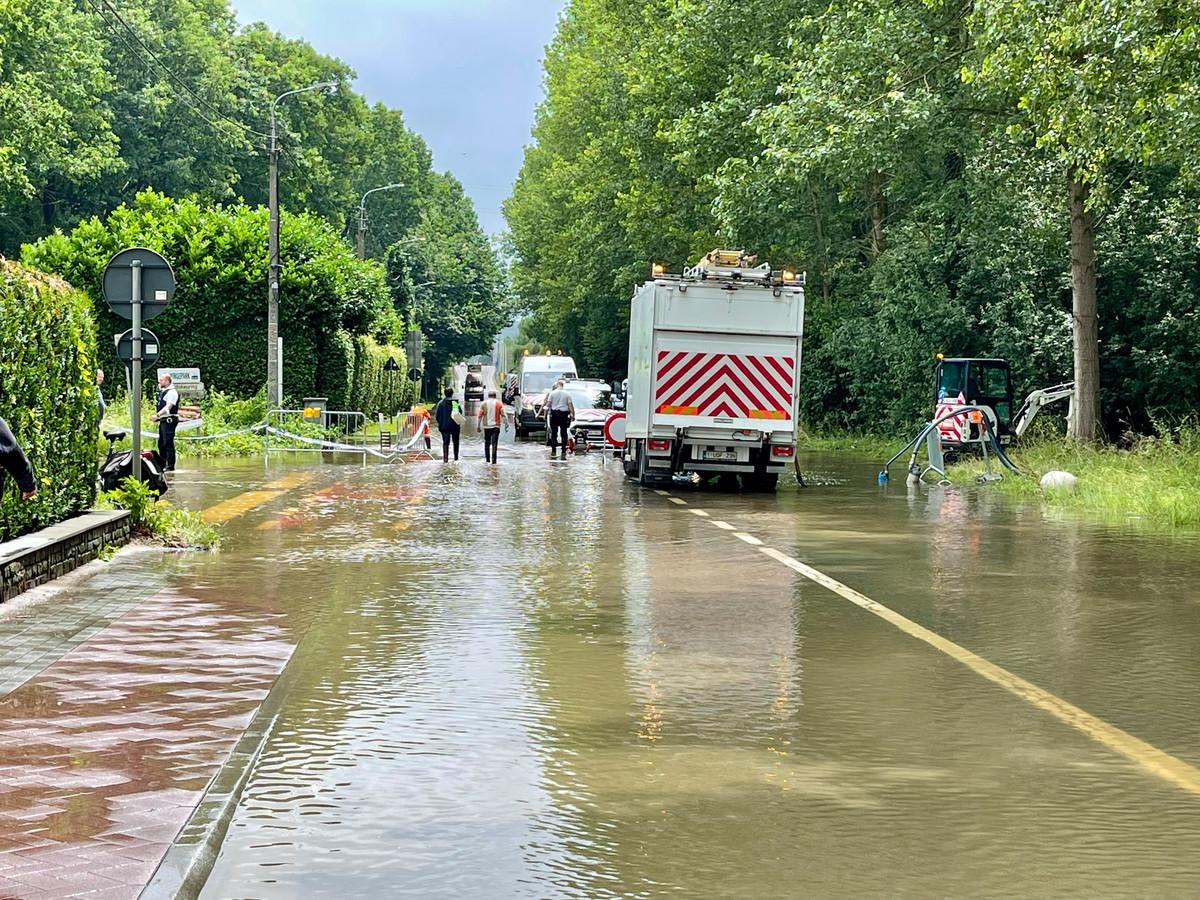 In Rotselaar ontstond er de voorbije dagen wateroverlast op de Steenweg op Holsbeek, in de omgeving van E314 en in industrieterrein Wingepark.