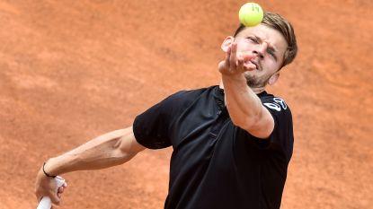 Geen derde ronde voor Goffin in Rome: Del Potro klopt Luikenaar in twee sets