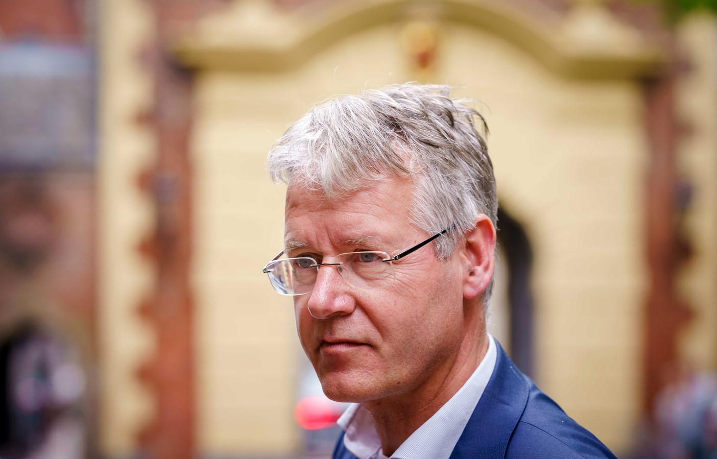 Arie Slob, demissionair minister voor Basis- en Voortgezet Onderwijs en Media.
