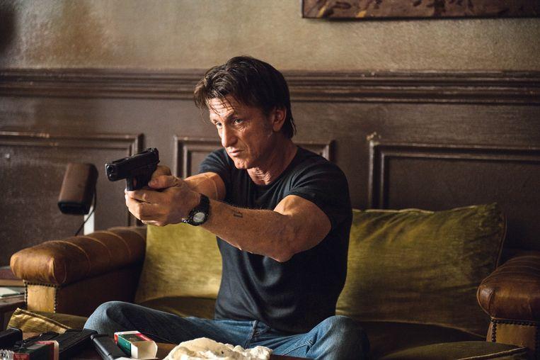 Sean Penn in The Gunman. Beeld .