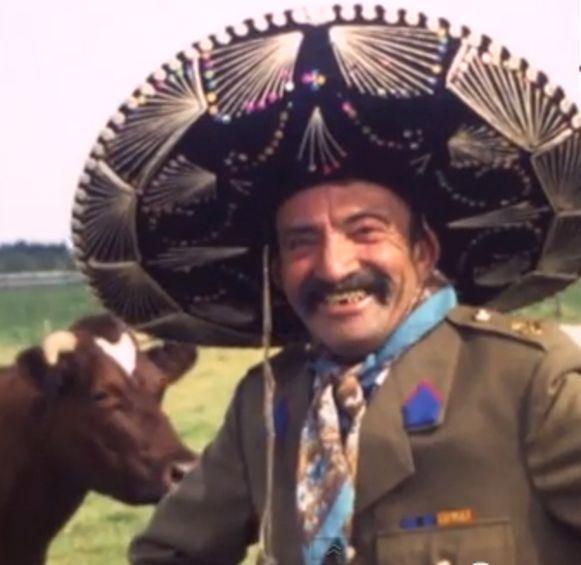 'Pa Rist' als echte Mexicaan in een van hun films