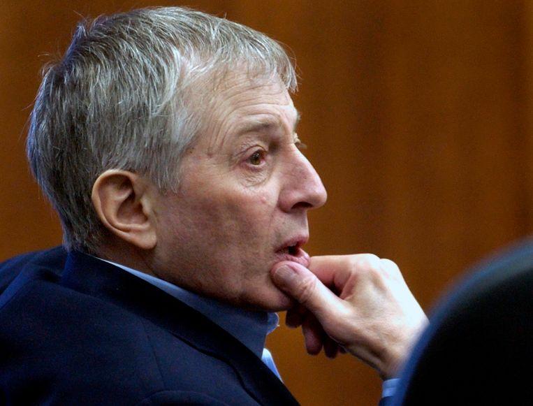 Robert Durst in de rechtszaal in 2003. Beeld AP