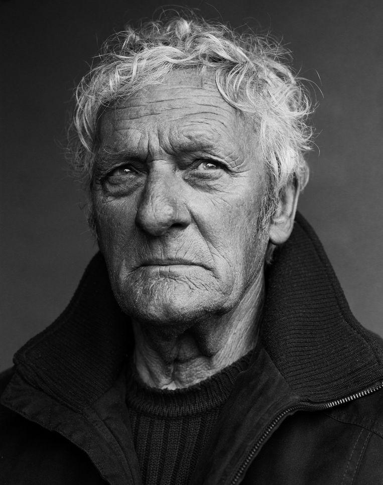 Albert 'De Witten' Deramout: 'Voor de kust van IJsland kon het geweldig lelijk doen. Ik herinner me een tornado. Ons schip stond zo goed als verticaal in de golven. We dachten dat we eraan gingen.' Beeld Stephan Vanfleteren
