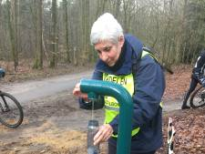 Na Amerongen nu ook watertappunt in Rhenen op mountainbike route