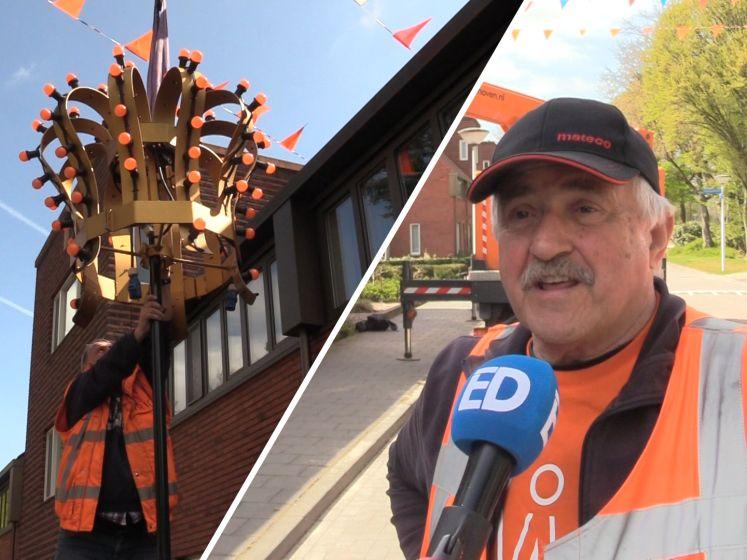 Finalisten 'Koning voor 1 Dag' verrast met toepasselijke tuinversiering: 'Er hangt een prachtige kroon nu'