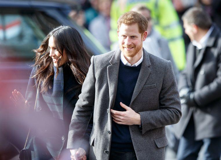 Meghan Markle en prins Harry