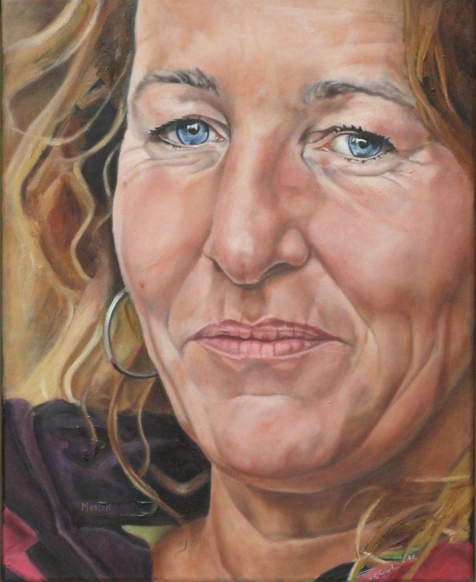 Mariska de Kok, zelfportret.