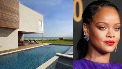 BINNENKIJKEN. In deze luxevilla wil Rihanna de problemen met haar vader vergeten