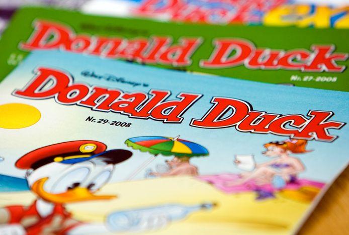 Donald Duck, het vrolijke weekblad.