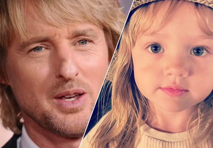 Owen Wilson et sa fille Lyla.