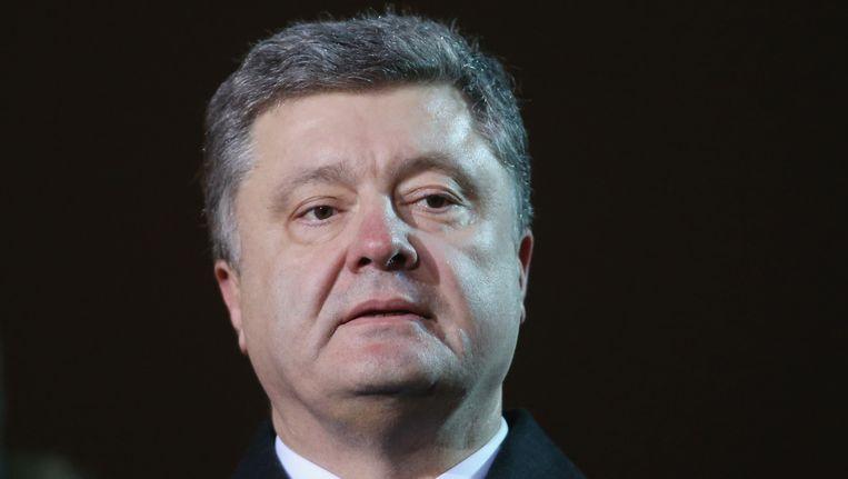 Petro Porosjenko Beeld GETTY