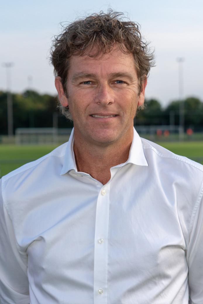 Rob Bouman, trainer van De Bataven.