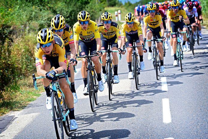 Is de Jumbo-trein straks ook in de Vuelta dominant?