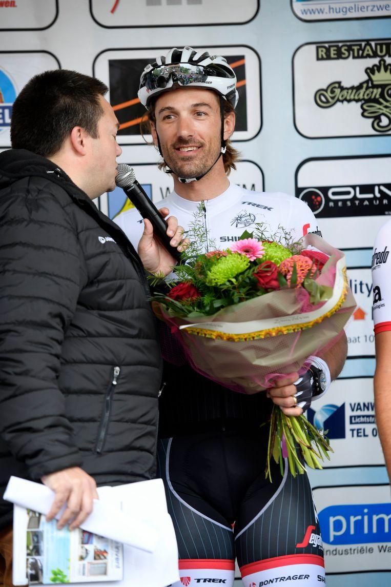 Gullegem Koerse bracht een topdeelnemersveld samen met naast deze Fabian Cancellara... Beeld Photo News