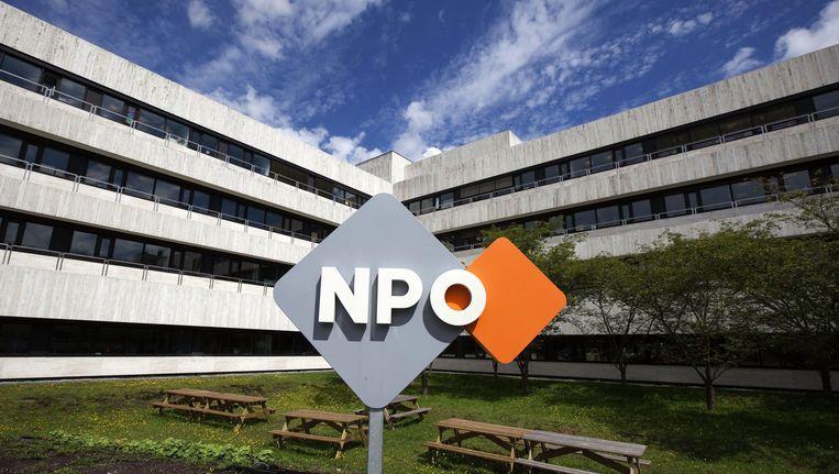 Het kantoor van de NPO in Hilversum Beeld anp