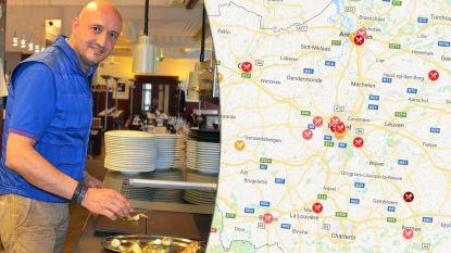 IN KAART. Dit zijn volgens Gault&Millau de beste restaurants bij jou in de buurt