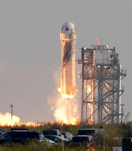 Blue Origin effectuera un nouveau vol touristique dans l'espace le 12 octobre