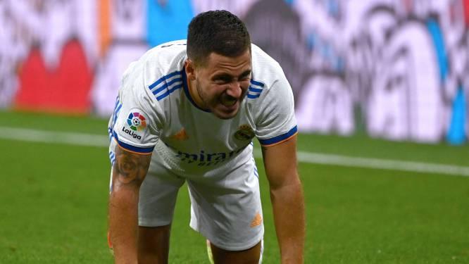 Mist rond Eden Hazard, die volgens Real-coach Ancelotti weer blessurezorgen heeft