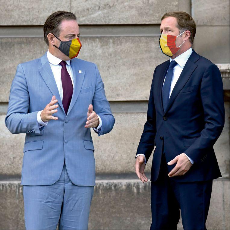 Bart De Wever en Paul Magnette Beeld HUMO