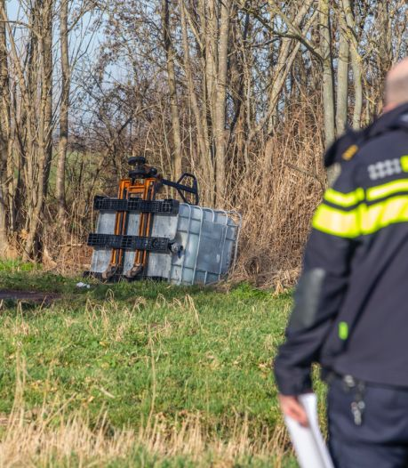 Mogelijk drugsafval gevonden in Kockengen