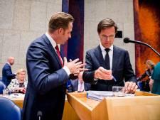 Coryfeeën CDA en VVD: Rutte III slaafs kabinet