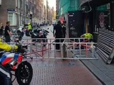 Twee mannen gewond door omvallen steiger