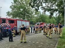 Achterhoekse brandweer naar Limburg: 'Bereid je erop voor dat mensen je in paniek aanklampen'