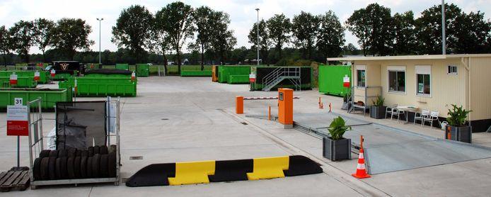 Het IOK-containerpark van Dessel en Retie.