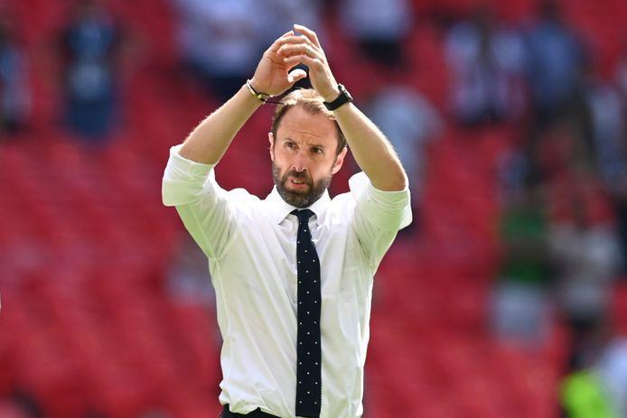 De Engelse bondscoach Gareth Southgate.