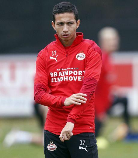 Slecht nieuws voor PSV en Mauro Júnior: Braziliaan rest van seizoen uitgeschakeld